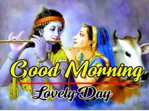 Radha Krishna Good Morning Photo