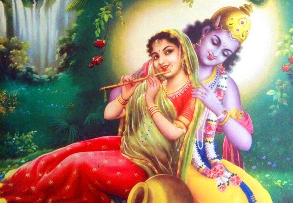 Radha Krishna Wallpaper New