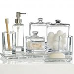 Bathroom Accessories in Glass