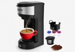 sboly single serve coffee maker compact x