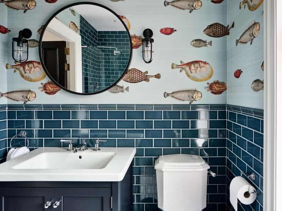 wall kids bathroom ideas tuwdesigns